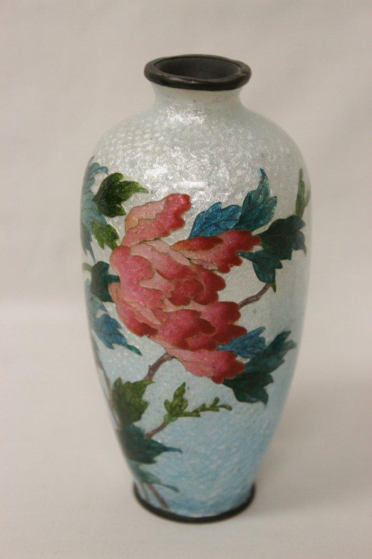 2 antique Japanese cloisonne pieces - 2