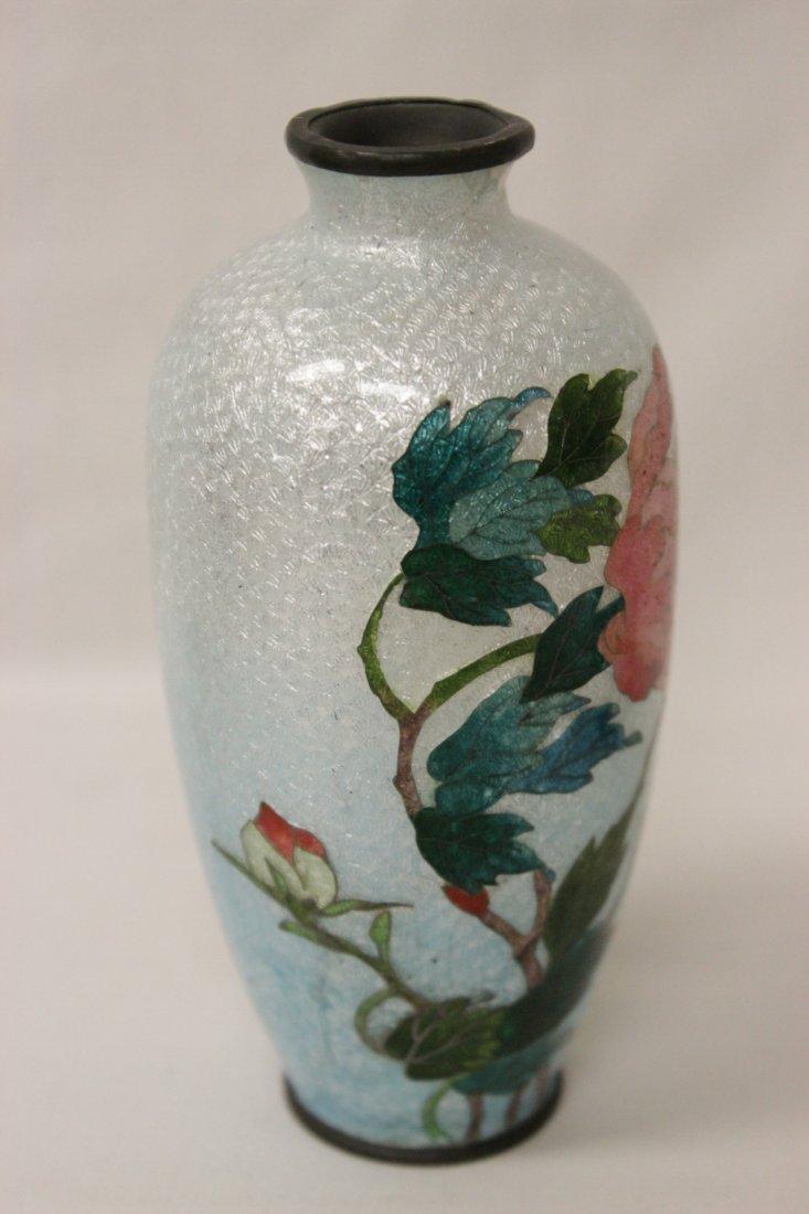 2 antique Japanese cloisonne pieces - 3