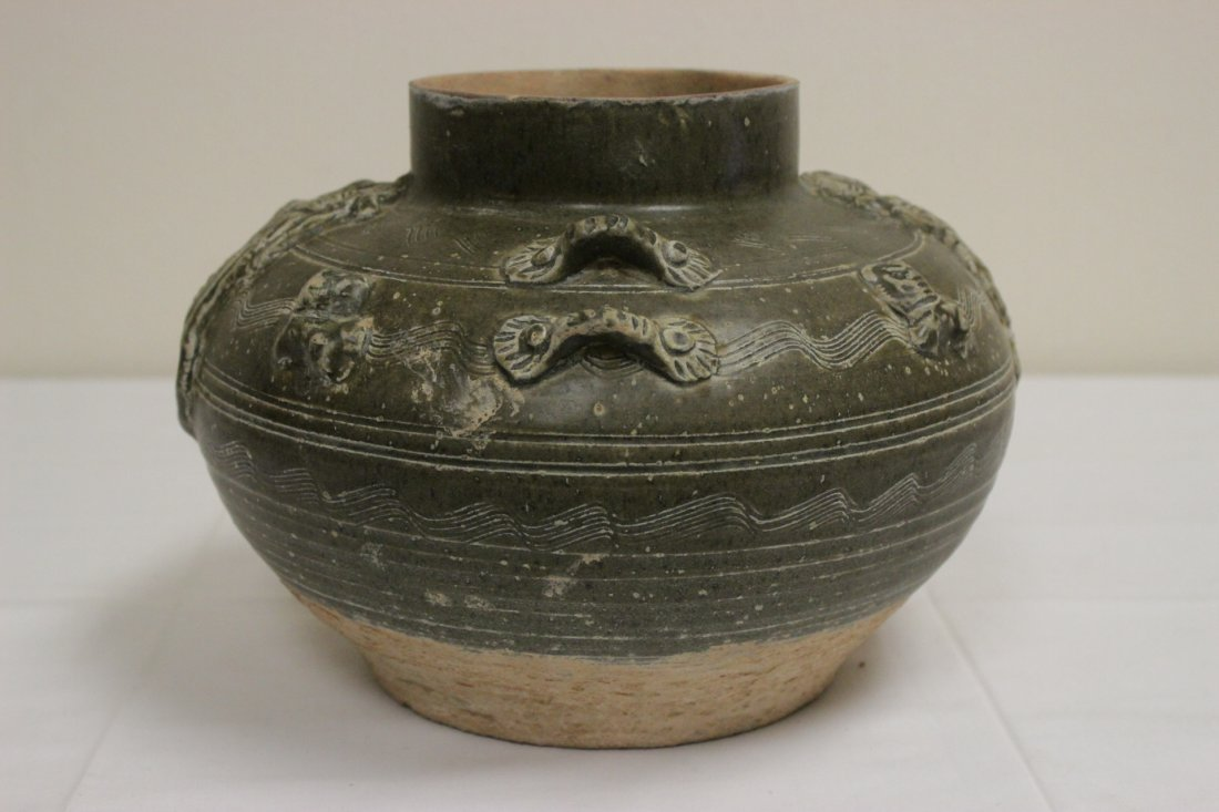 Chinese Song style brown glazed jar - 3