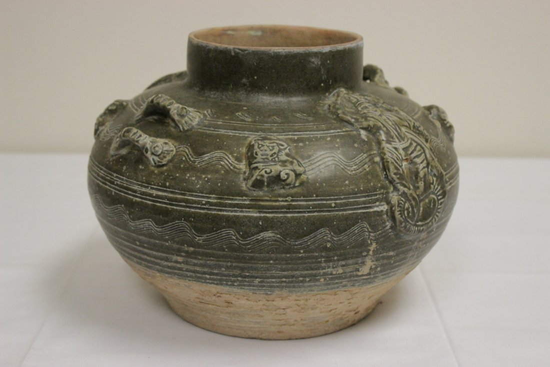 Chinese Song style brown glazed jar - 6