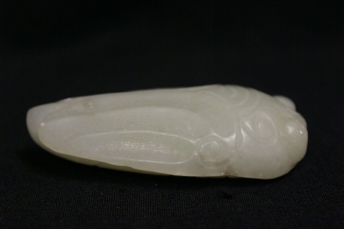 2 Chinese jade carved ornament - 2