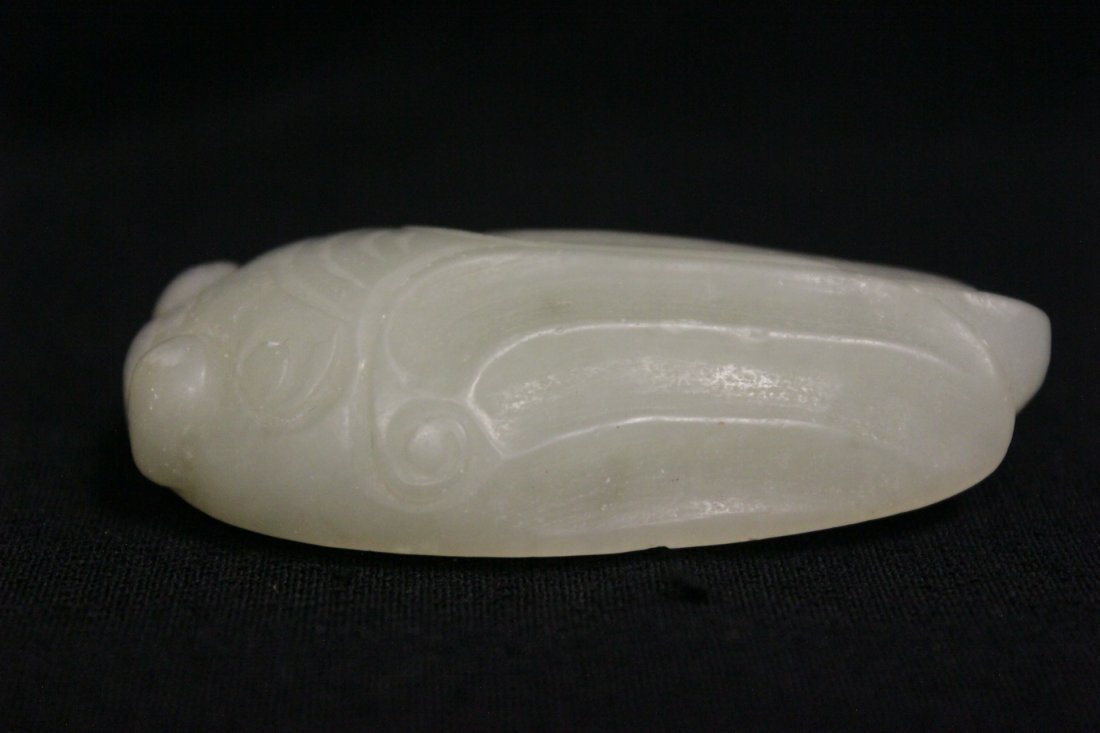 2 Chinese jade carved ornament - 3