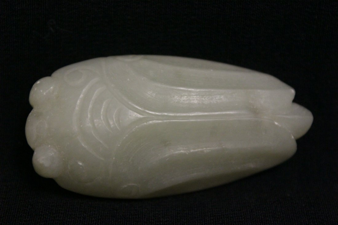 2 Chinese jade carved ornament - 4