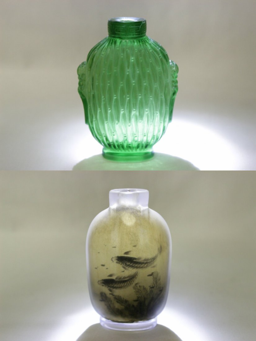 2 Chinese snuff bottles - 10