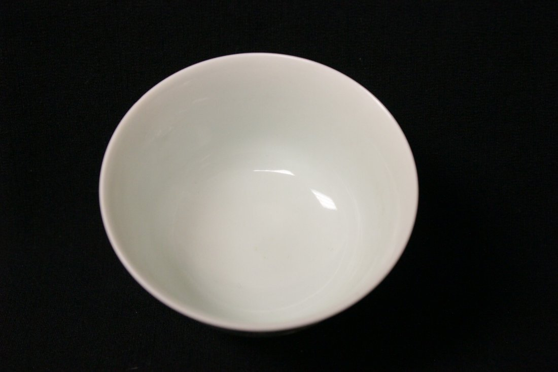 Chinese wucai small porcelain wine cup - 6