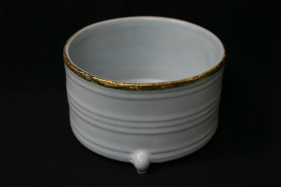 Chinese Song style porcelain footed censer
