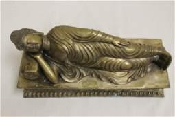 Chinese brass sculpture of Buddha