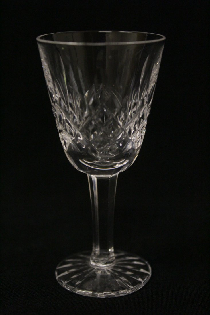 12 crystal cordial wine glasses by Waterford - 7