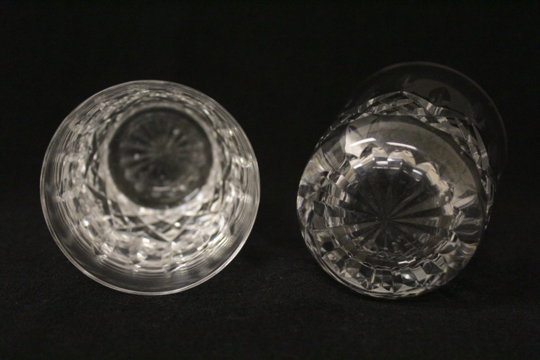 16 crystal water glasses by Waterford - 5