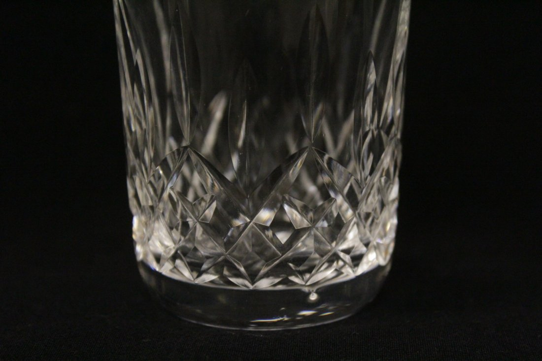 16 crystal water glasses by Waterford - 8
