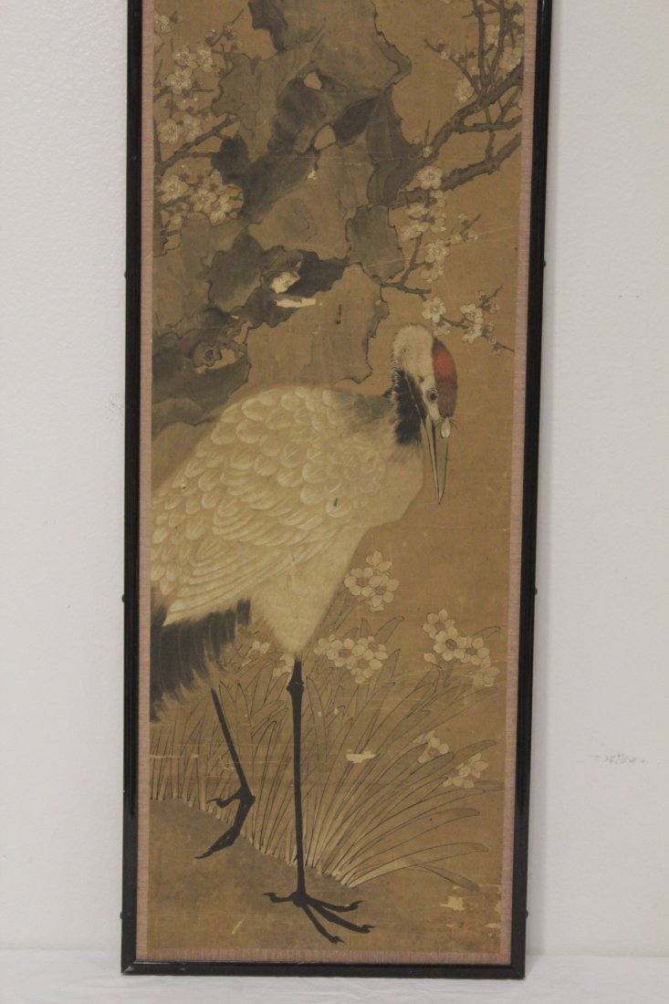 Antique Chinese watercolor on paper - 2