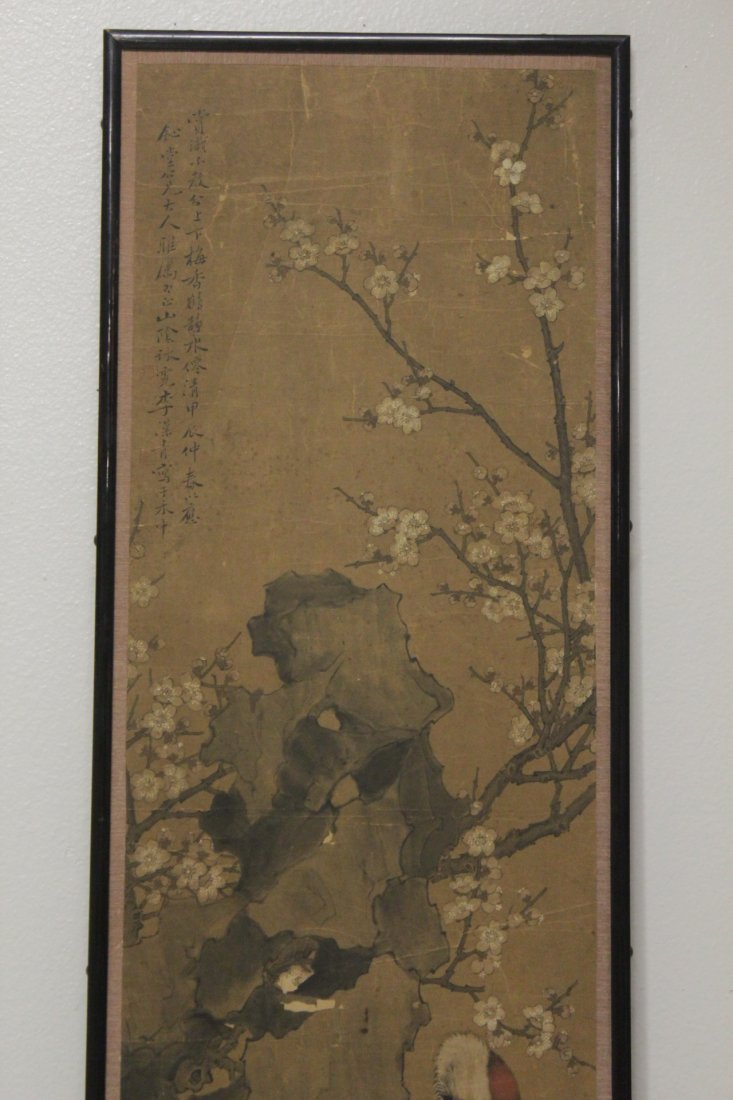 Antique Chinese watercolor on paper - 3