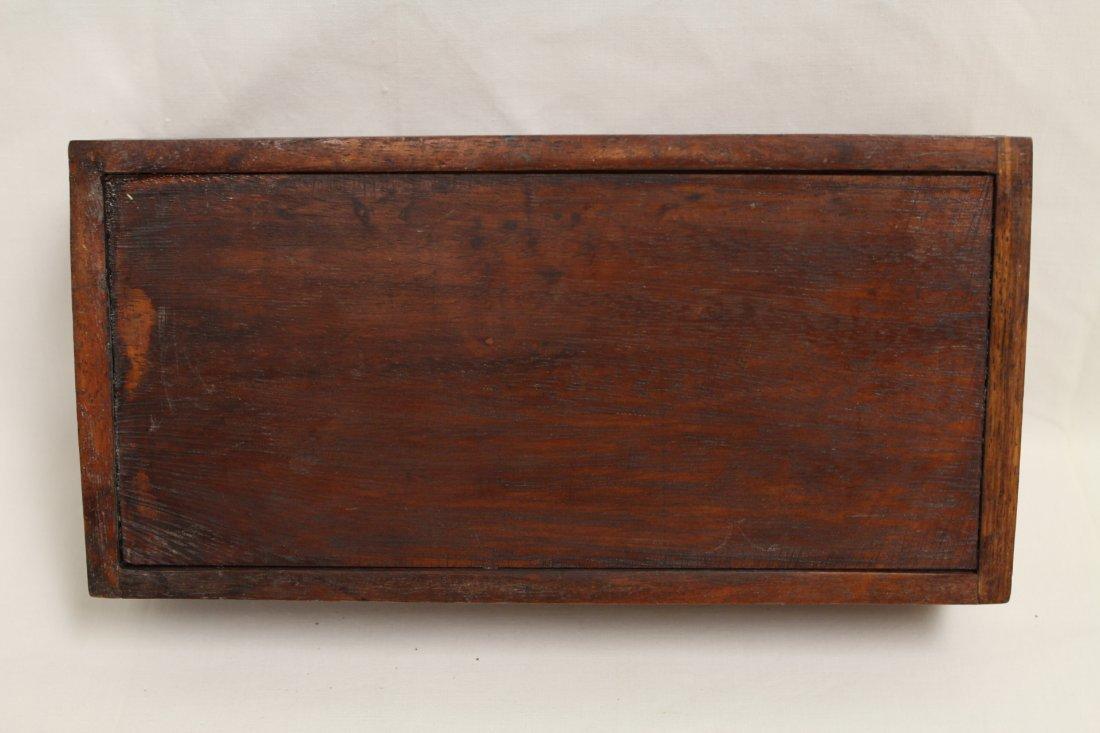 Tea in sealed wood box - 10