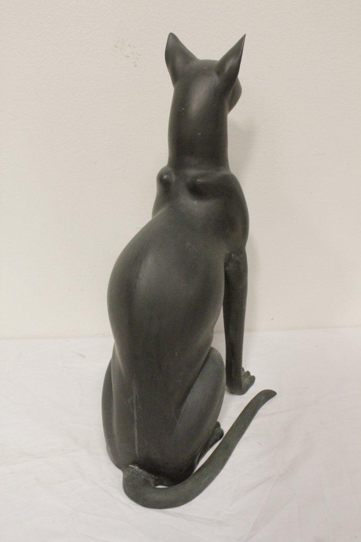 Bronze sculpture of cat - 7