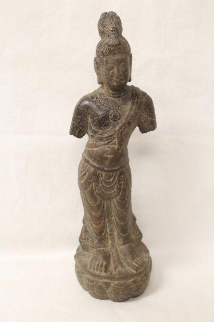 Chinese stone standing Buddha