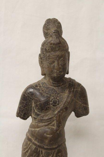 Chinese stone standing Buddha - 2
