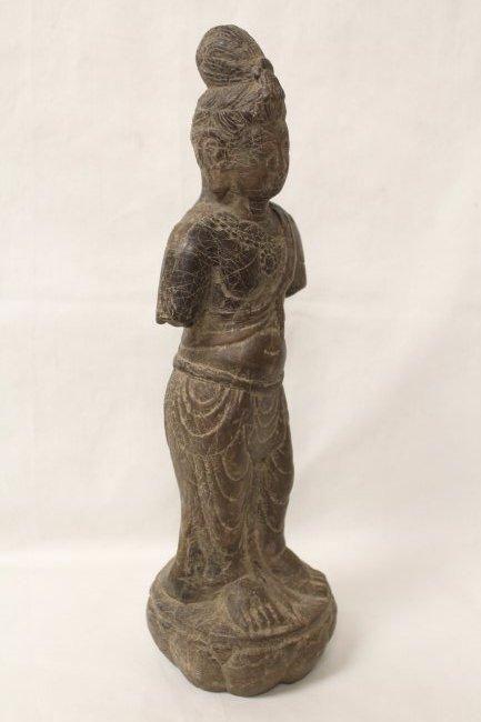 Chinese stone standing Buddha - 5
