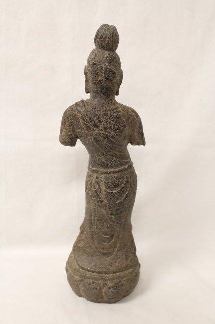 Chinese stone standing Buddha - 6