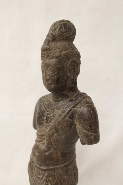 Chinese stone standing Buddha - 8
