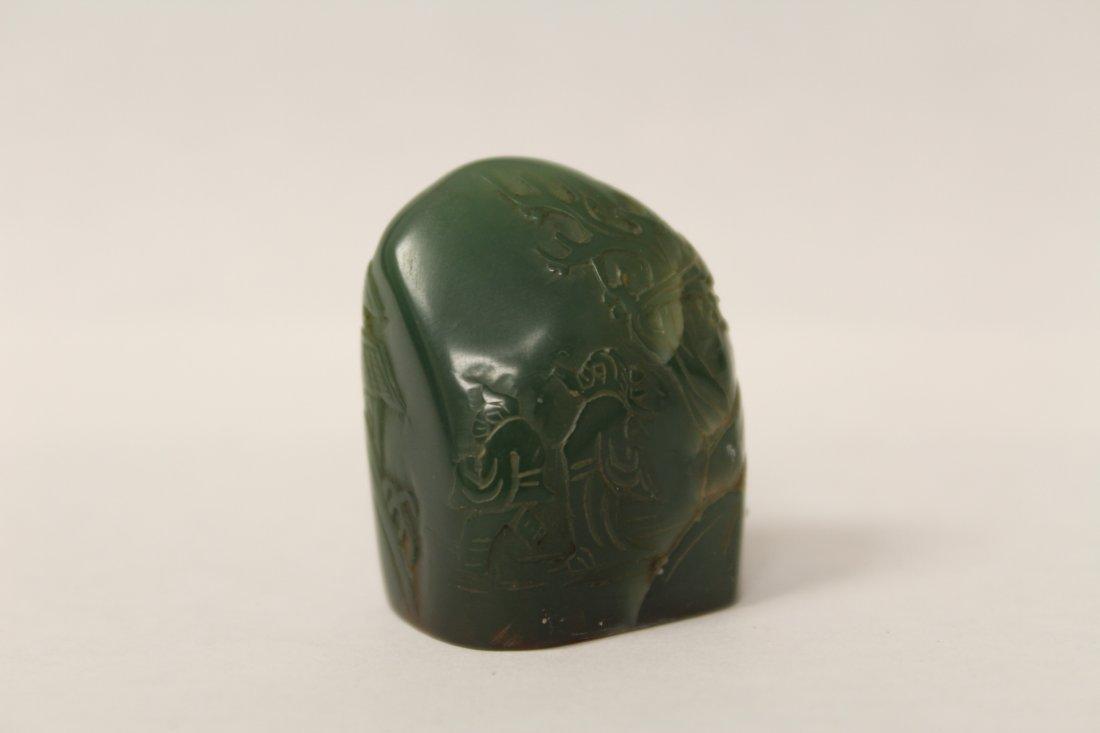 Chinese vintage shoushan stone seal