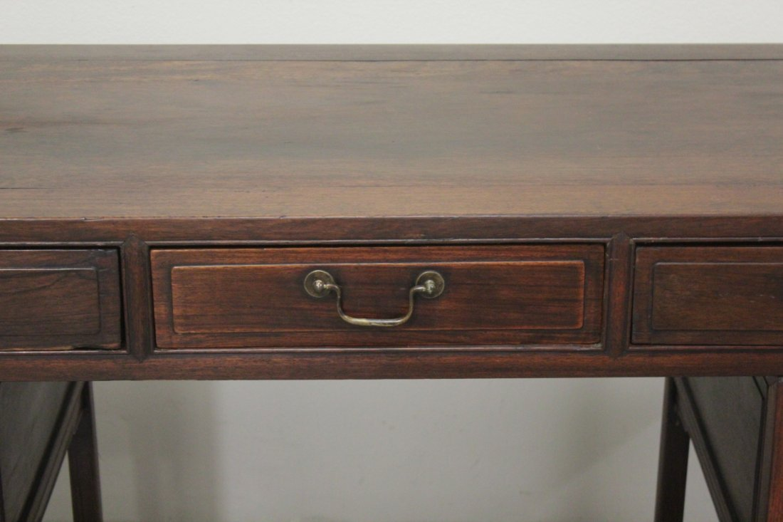 Chinese vintage hong-mu desk - 3