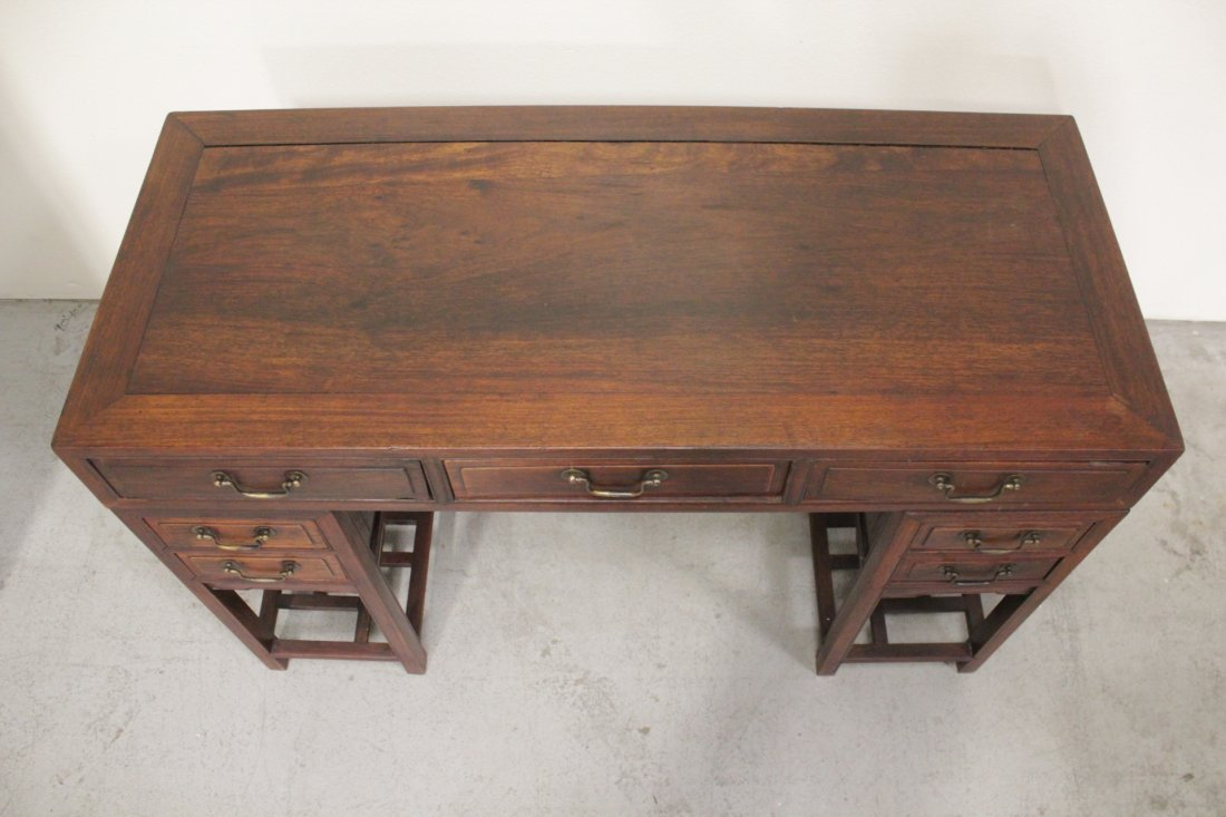Chinese vintage hong-mu desk - 4