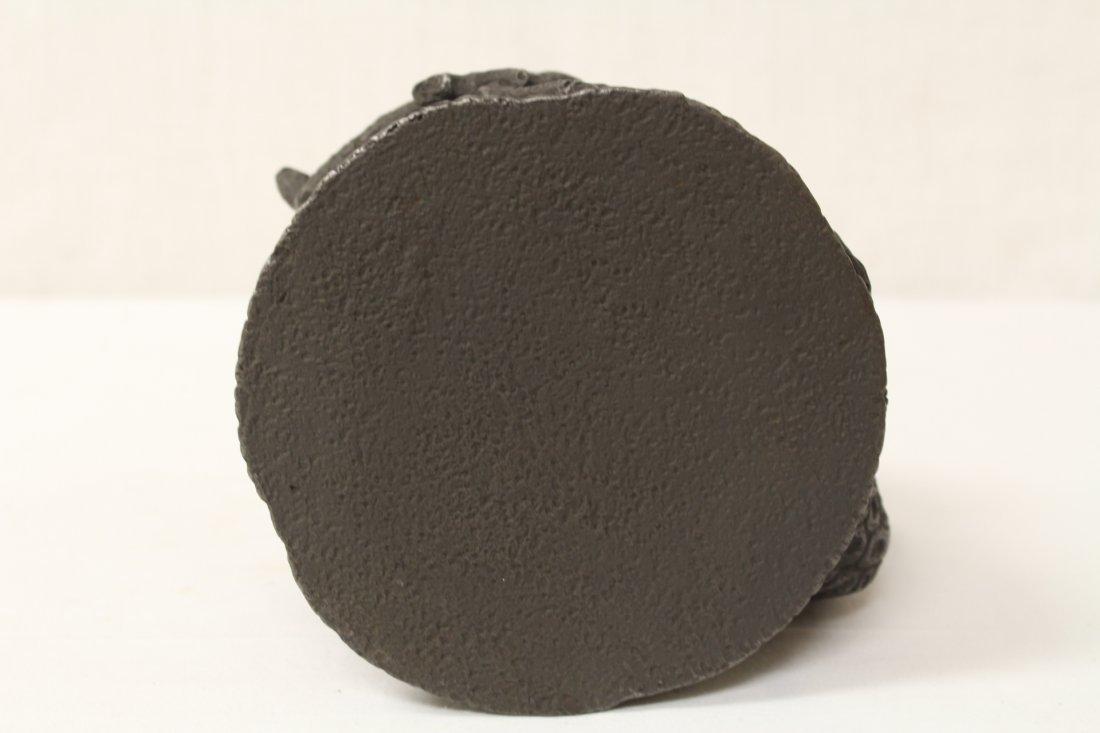 Chinese cast iron teapot - 10