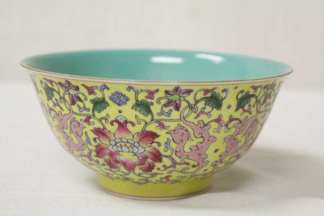 famille rose porcelain bowl - 3