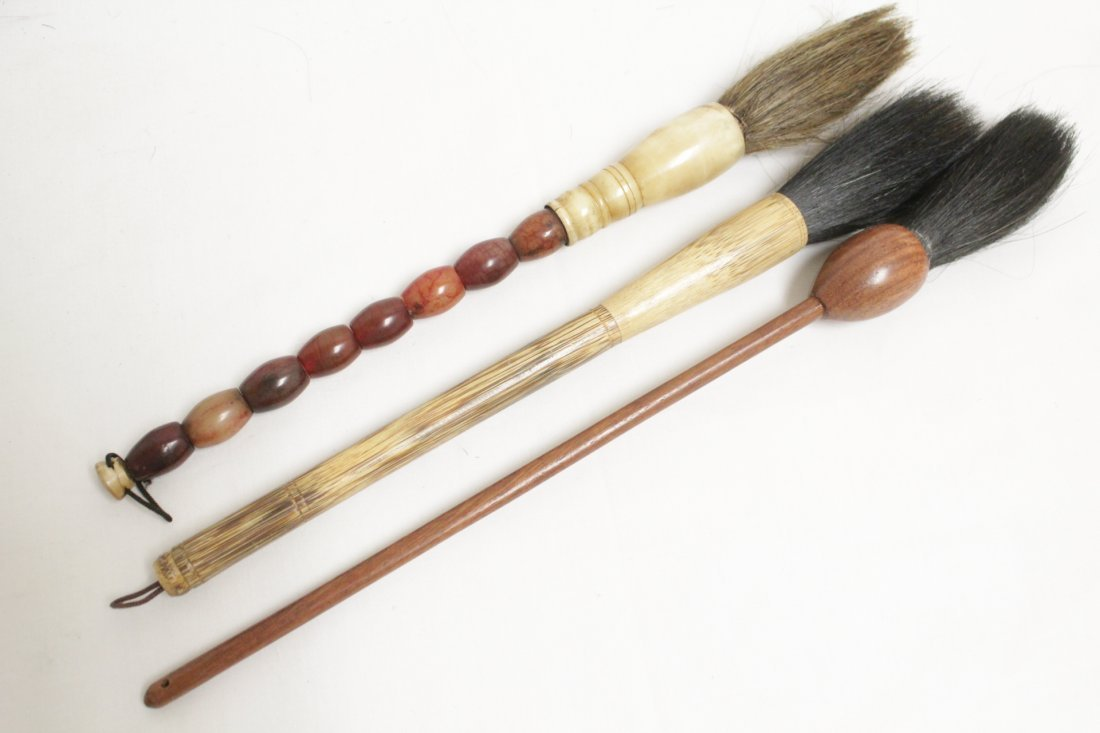 12 Chinese artist brushes - 6