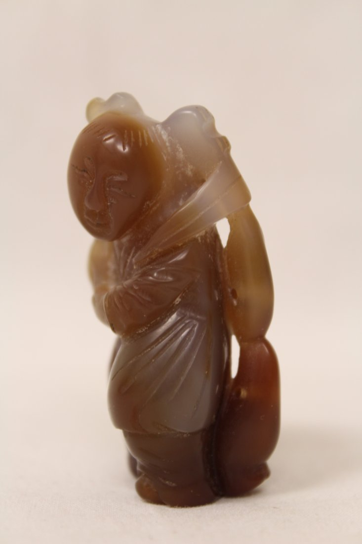 Chinese jade carved figure - 2