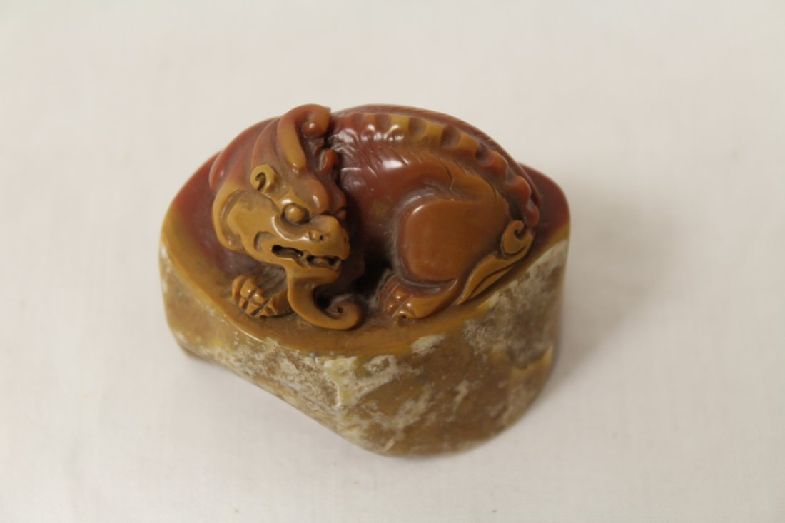 Shoushan stone seal - 9