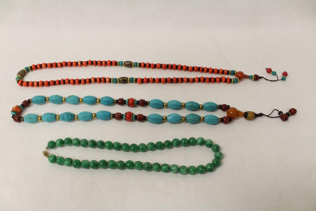 3 necklaces