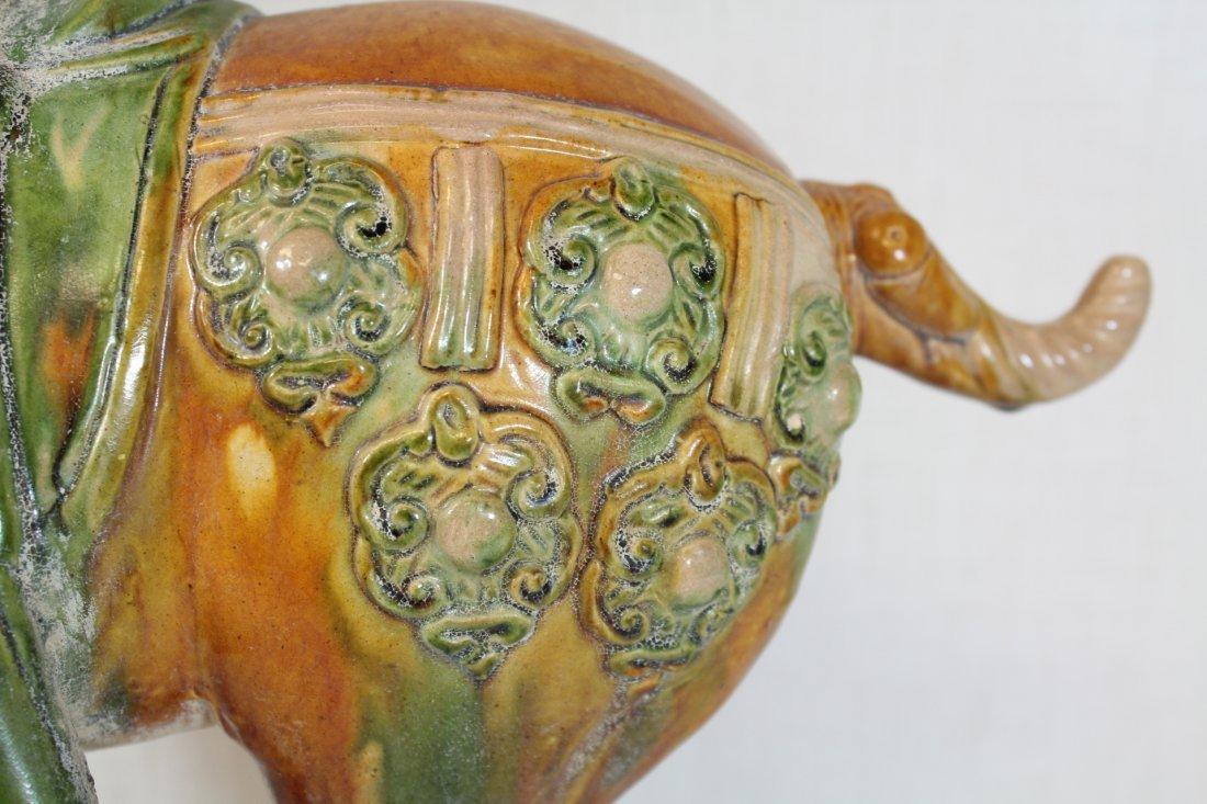 Chinese sancai style pottery horse - 6