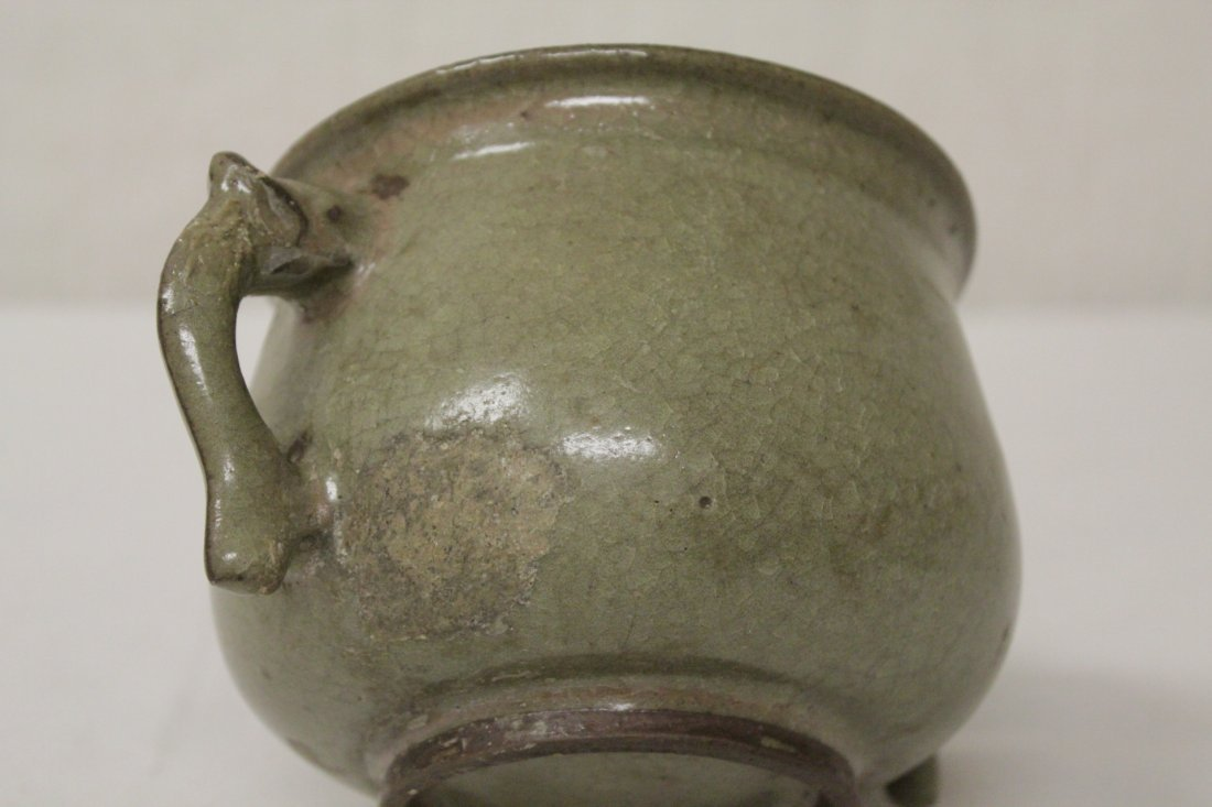 Song style handled vase - 10