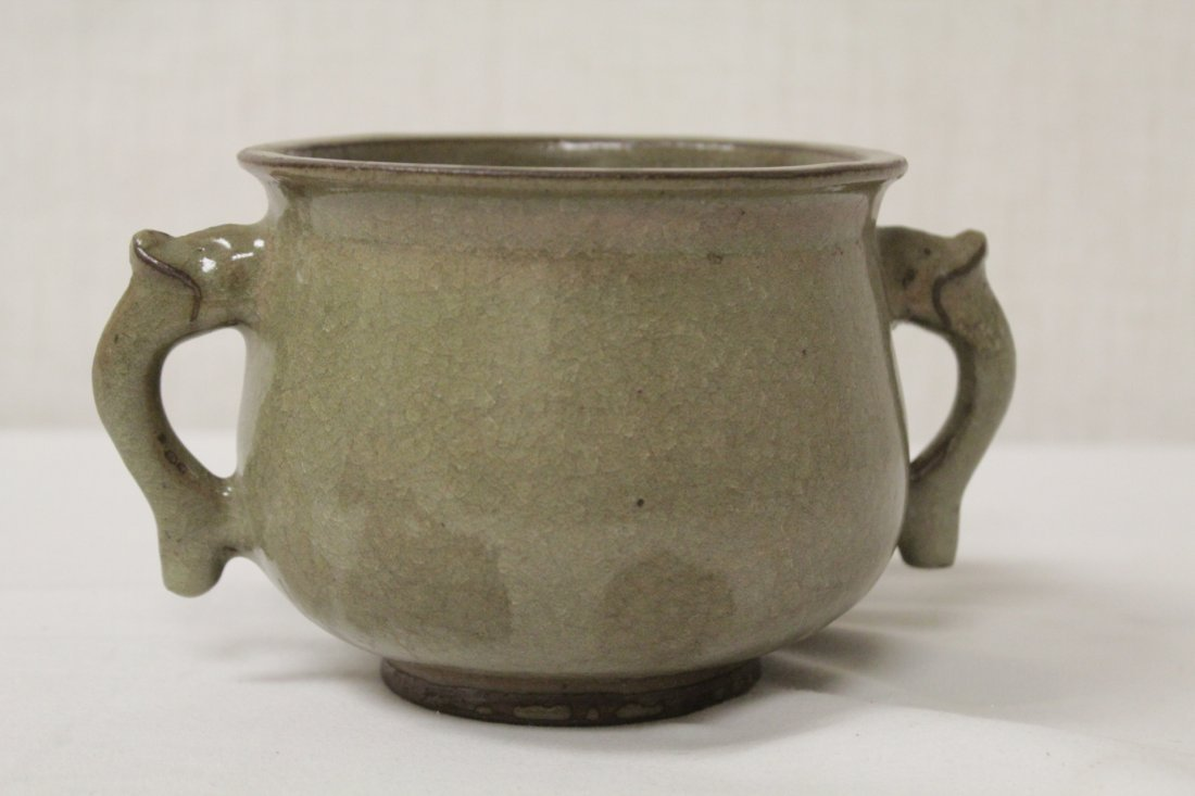 Song style handled vase - 3