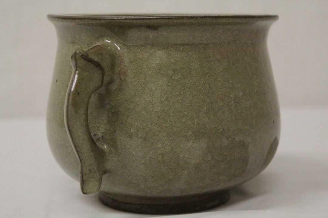 Song style handled vase - 9
