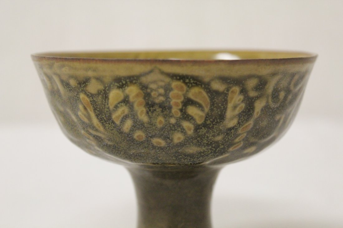 Chinese Song style stem bowl - 6