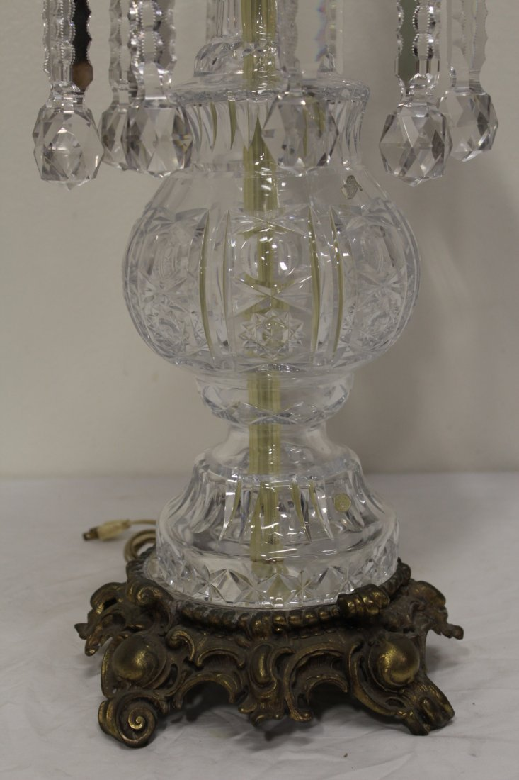 Beautiful crystal table lamp - 3