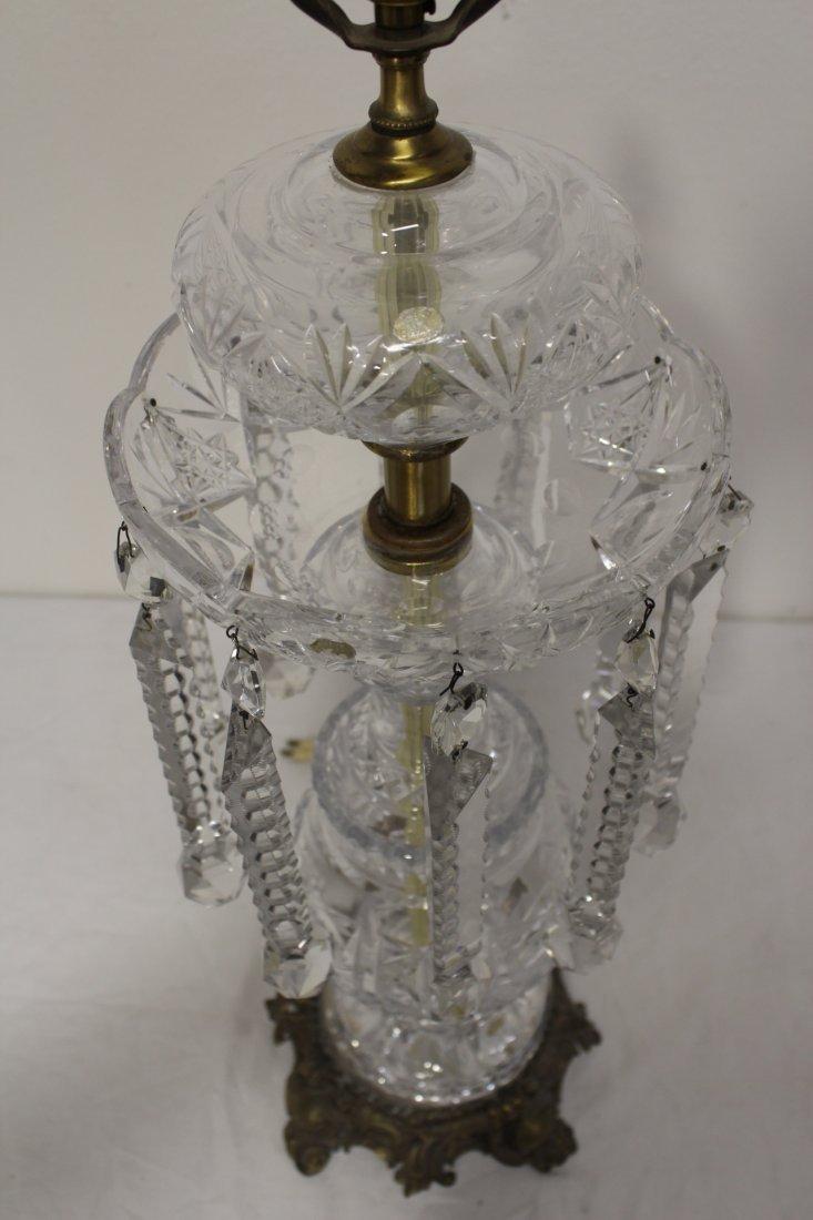 Beautiful crystal table lamp - 8