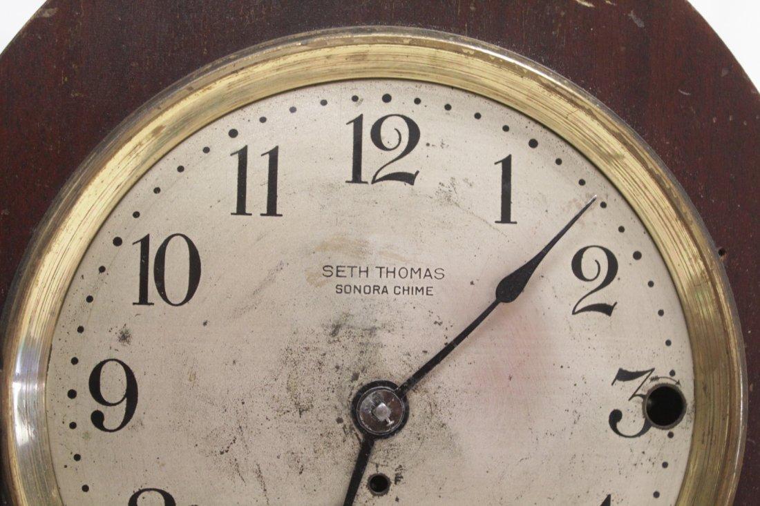 Rare wood case table clock by Seth Thomas - 3
