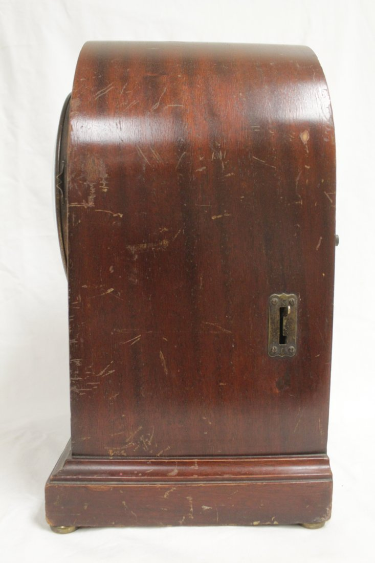 Rare wood case table clock by Seth Thomas - 6