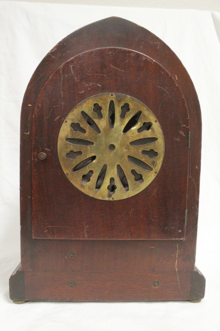 Rare wood case table clock by Seth Thomas - 7