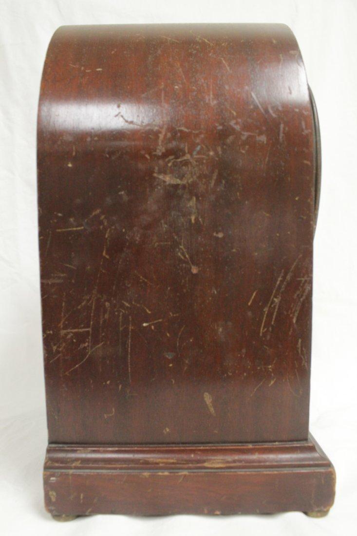 Rare wood case table clock by Seth Thomas - 8