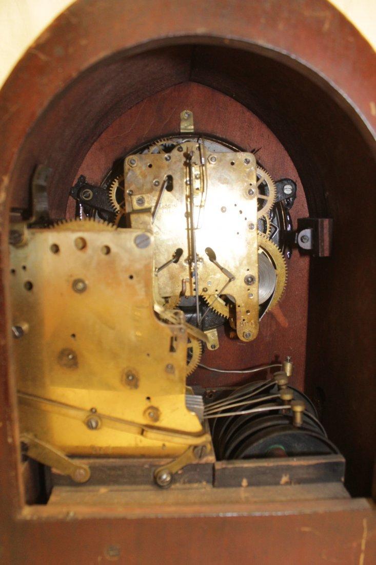 Rare wood case table clock by Seth Thomas - 9