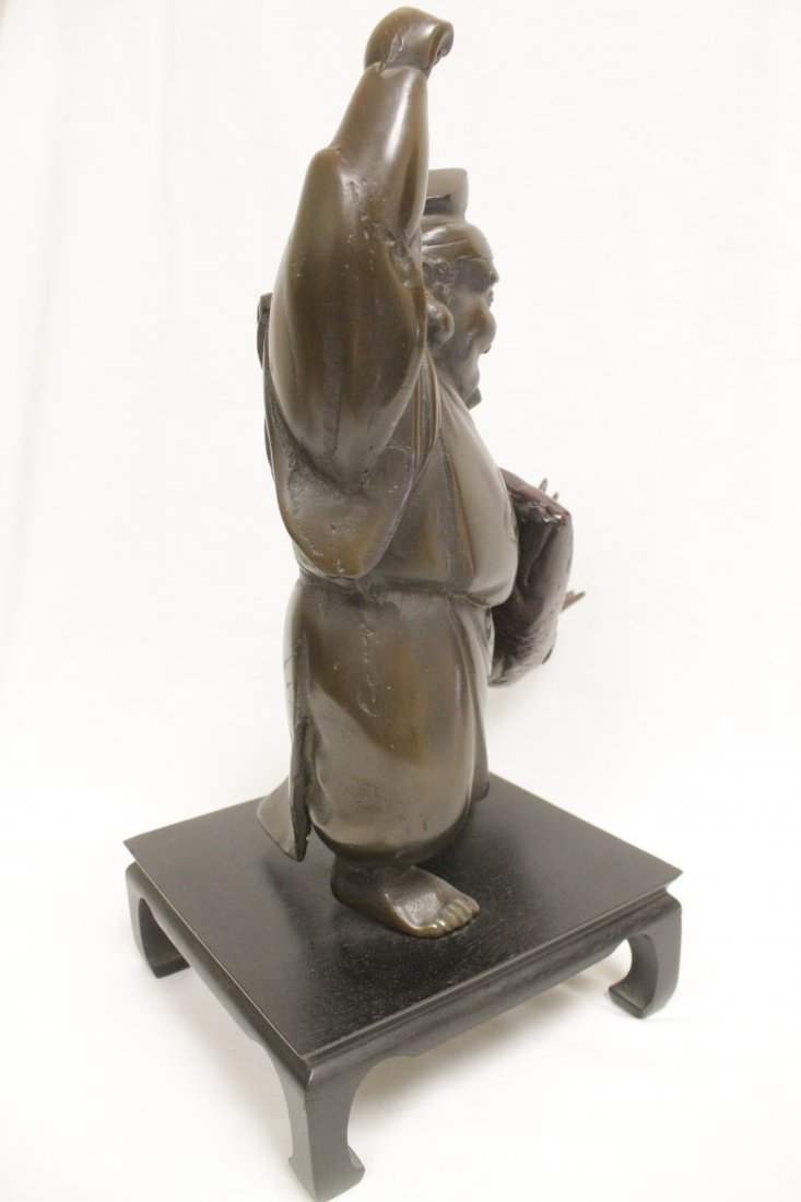 Japanese bronze sculpture - 3