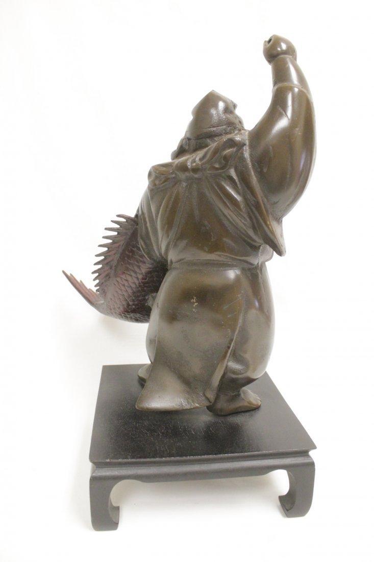 Japanese bronze sculpture - 4