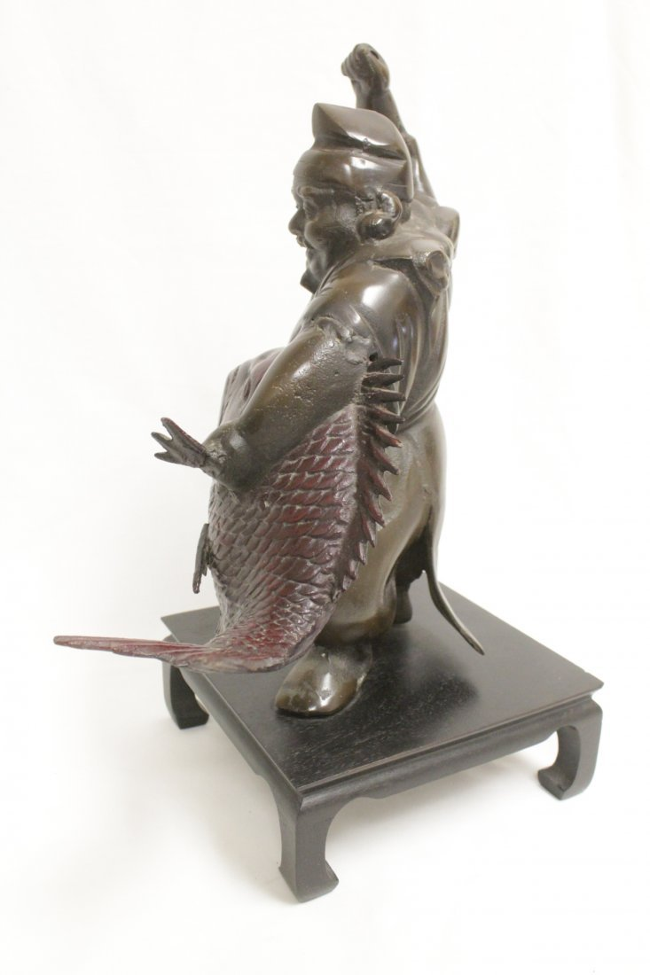 Japanese bronze sculpture - 5