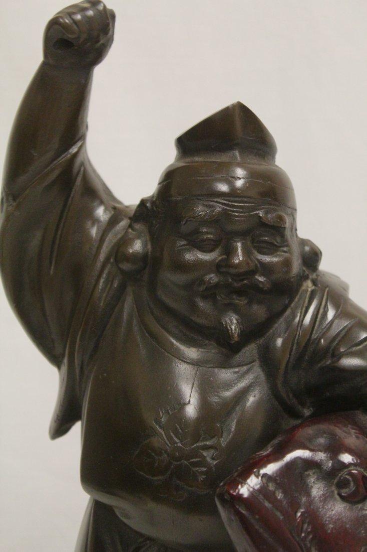 Japanese bronze sculpture - 7