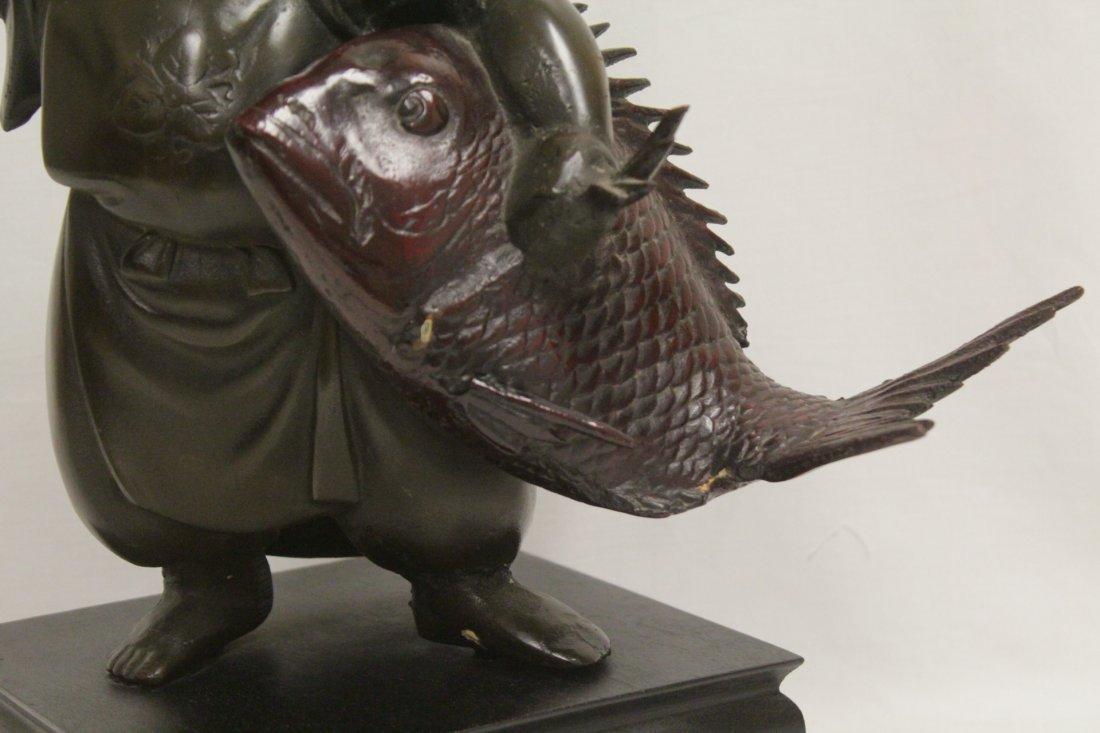 Japanese bronze sculpture - 8