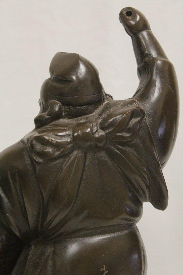 Japanese bronze sculpture - 9